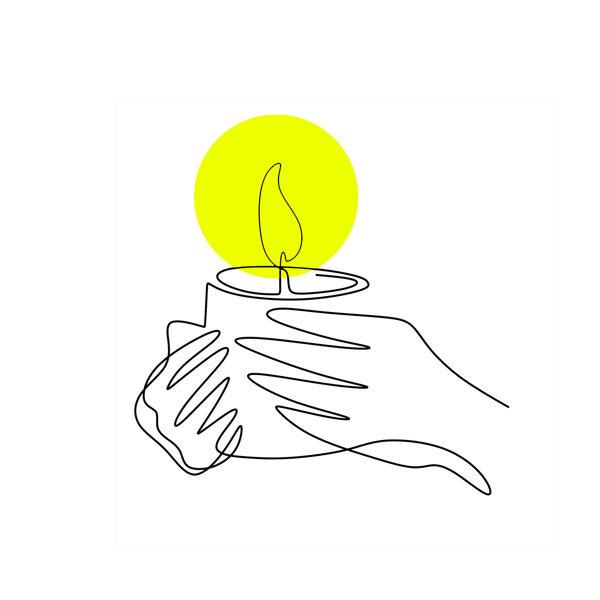 Grāmata ar svečturi